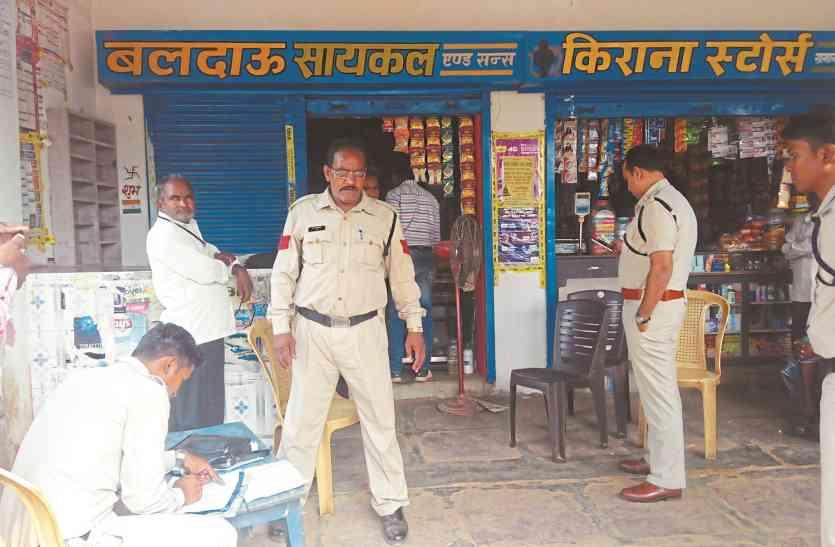 दुकान की रखवाली करता रहा मालिक, इधर चोरों ने लाखों रुपए कर दिए पार