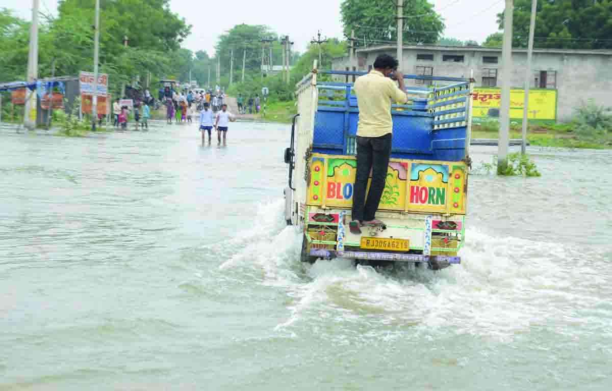 Bandiyanala, overflow rajsamand lake, rajsamand lake overflow, rajsamand lake, Rajsamand Hindi news, Rajsamand Lake, Latest hindi news rajsamand, Rajsamand
