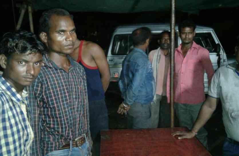115 किलो गांजा के साथ दो आरोपी हुए गिरफ्तार