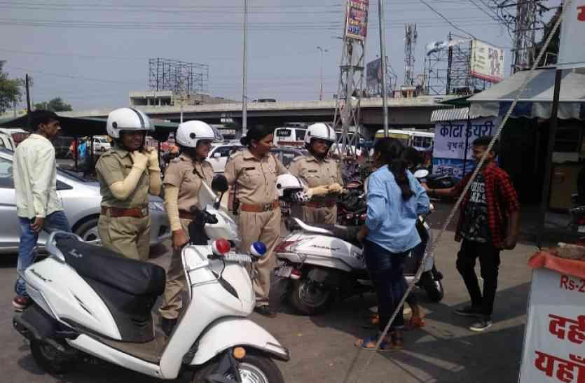 मनचलों की नकेल कस रही महिला पुलिस की सिग्मा