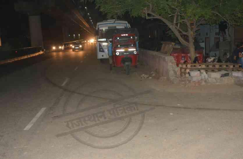 जयपुर में हुआ हिट एंड रन केस, 50 फीट तक महिला को घसीट ले गई तेज रफ़्तार कार