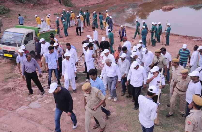 Nagaur : पत्रिका के प्रयासों को लगेंगे पंख, 1.25 करोड़ से जड़ा तालाब बनेगा सिटी पार्क