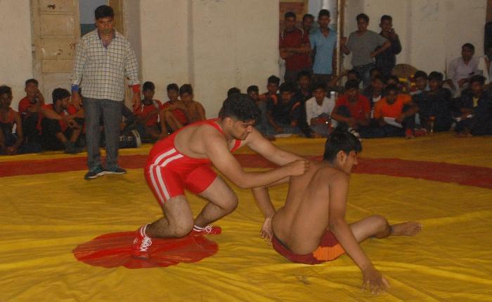 कुश्ती प्रतियोगिता
