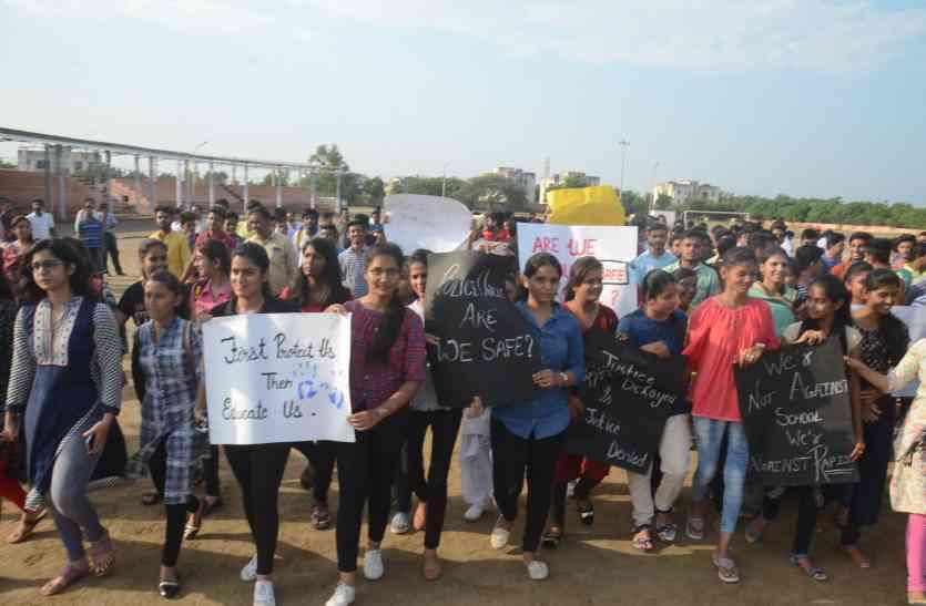 बाड़मेर में आक्रोश की चिंगारी, पुलिस से बेटियों का सवाल, क्या हम सुरक्षित?