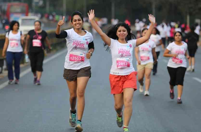 देश की सबसे बड़ी महिला दौड़ पिंकथॉन का आयोजन दिल्ली में,टाटा सॉल्ट निभाएगी ये बड़ी भूमिका