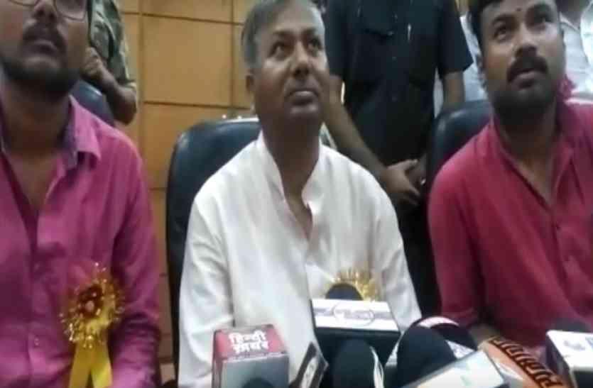 भाजपा के राज्यसभा सांसद जुगल किशोर ने कहा, पीएम चाहते तो मायावती होती जेल में