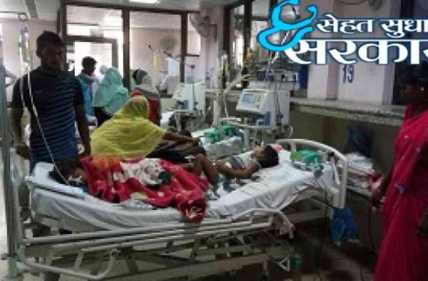 #sehatsudharosarkar: अस्पतालों की व्यवस्थाएं वेंटीलेटर पर और वेंटीलेटर पड़े हैं खराब