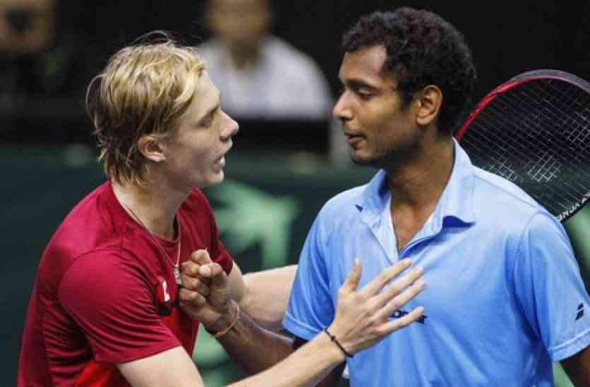 उलट एकल में भी हार से भारत डेविस कप से बाहर
