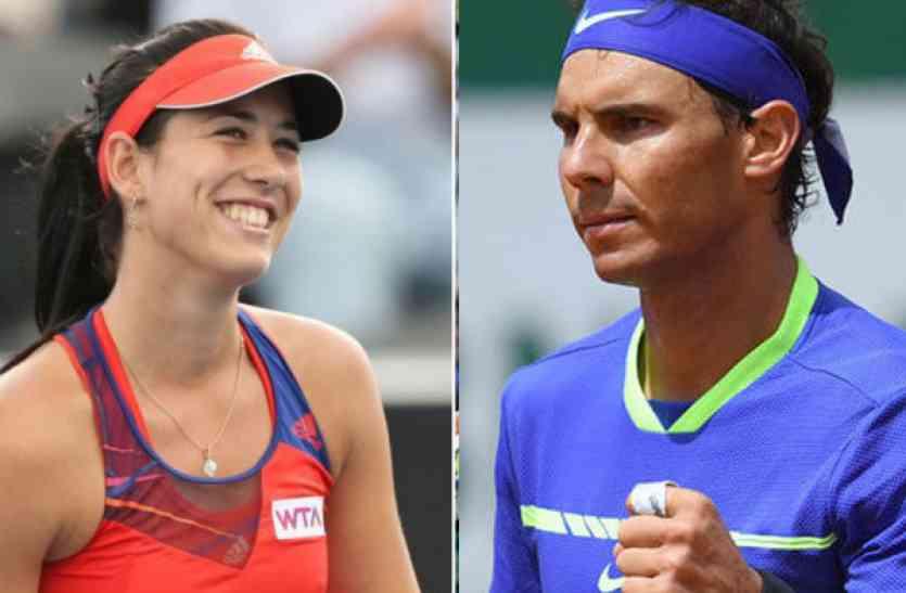 स्पेन के नाम हो गई है टेनिस रैंकिंग, पुरुषोंं में नडाल तो महिलाओं में मुगुरुजा नंबर-1 पर टिकीं