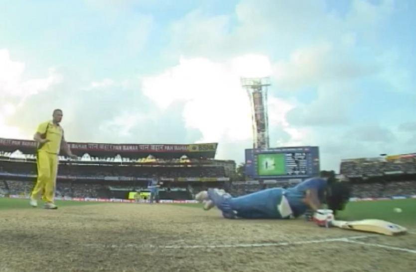 भुवनेश्वर के शॉट पर सिर में गेंद लगने से गिर पड़े हार्दिक पांड्या, ऑस्ट्रेलियाई खिलाडियों ने दिखाई ऐसी खेल भावना