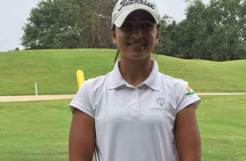 महिला गोल्फ खिलाडी तवेशा ने ये बड़ा खिताब अपने नाम किया