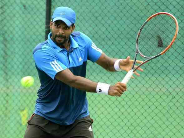 tennis,Vishnu Vardhan,