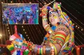 खूब झलका उत्साह का रंग, गरबा में रमे शहरवासी, देखें तस्वीरें