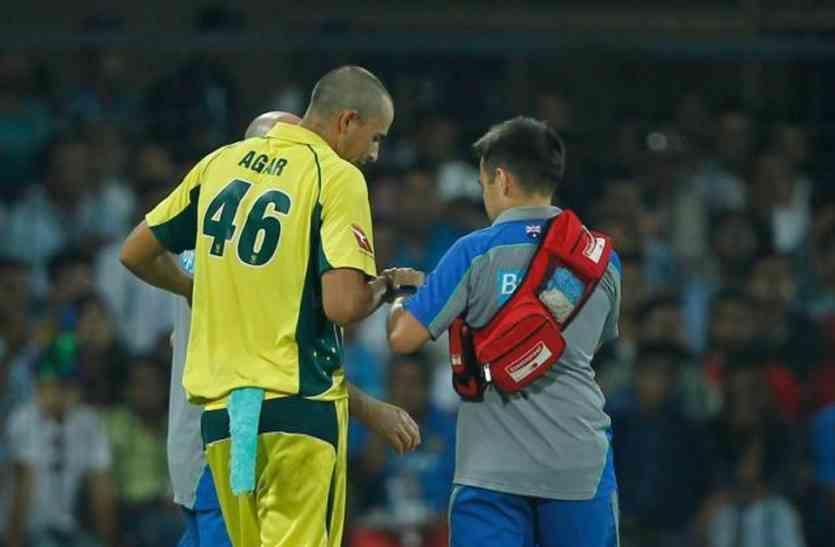 पांड्या ने जिस ऑस्ट्रेलियाई स्पिनर के छुड़ाए थे छक्के वो लौट गया अपने घर, नहीं खेलेगा बाकि 2 मैच