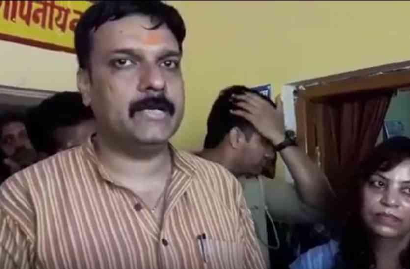 सीतापुर में भाजपा विधायक ने दी कार्यकर्ता को जान से मारने की धमकी, ऑडियो आया सामने