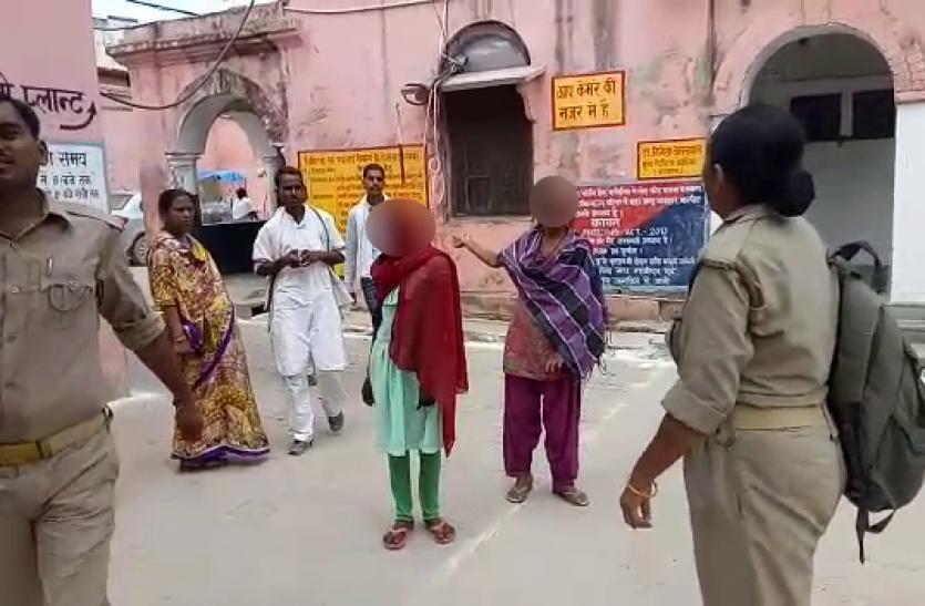 गाजीपुर में दो किशोरियों को जबरदस्ती रास्ते से उठाकर सामूहिक बलात्कार