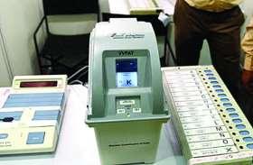 ईवीएम और वीवीपैट की प्रदर्शनी लगा मतदान की प्रक्रिया समझा रहे बीएलओ , अब तक 3 हजार लोगों ने समझी प्रकिया