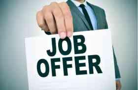 नौकरी तलाश रहे युवाओं के लिए सुनहरा मौका, यहां 24 अक्टूबर होगी सीधी भर्ती