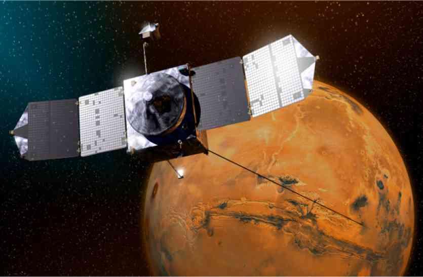 NASA के मंगल ओडिसी ने फोबोस की पहली तस्वीर ली