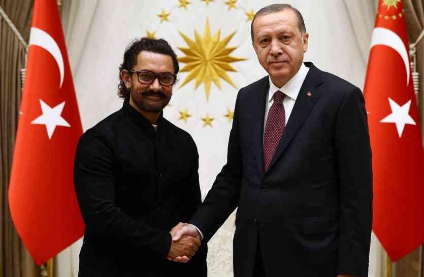 तुर्की में खाने के लिए तरस गए आमिर खान, सोशल मीडिया पर शेयर की तड़पाने वाली वीडियो