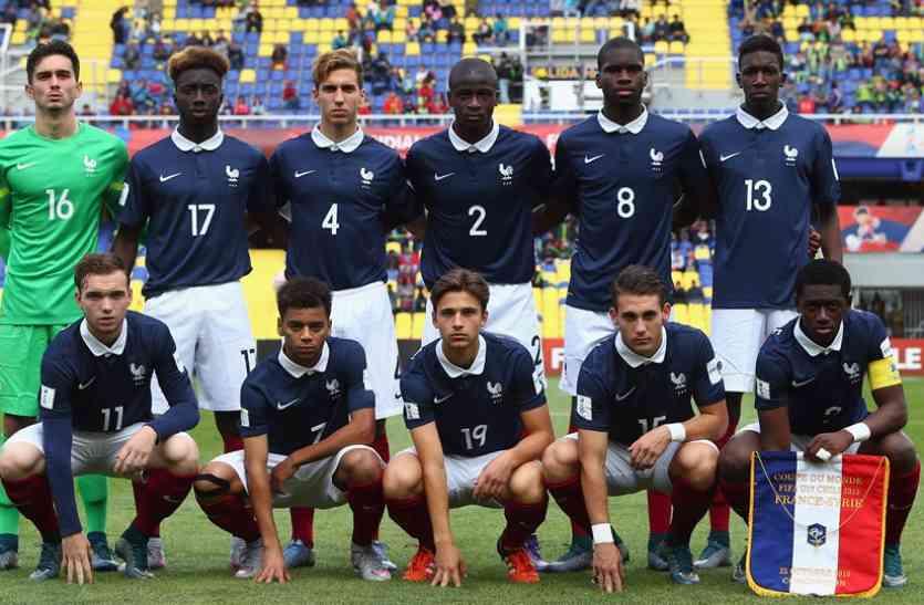 अंडर-17 विश्व कप : फ्रांस ने नई टीम न्यू कैलेडोनिया को 7-1 से रौंदा