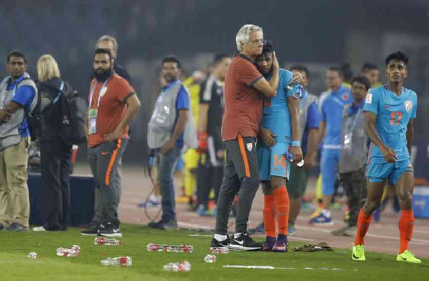 फीफा अंडर-17 विश्व कप में जैक्सन सिंह ने रचा इतिहास, भारत फिर भी रोमांचक मैच में हारा