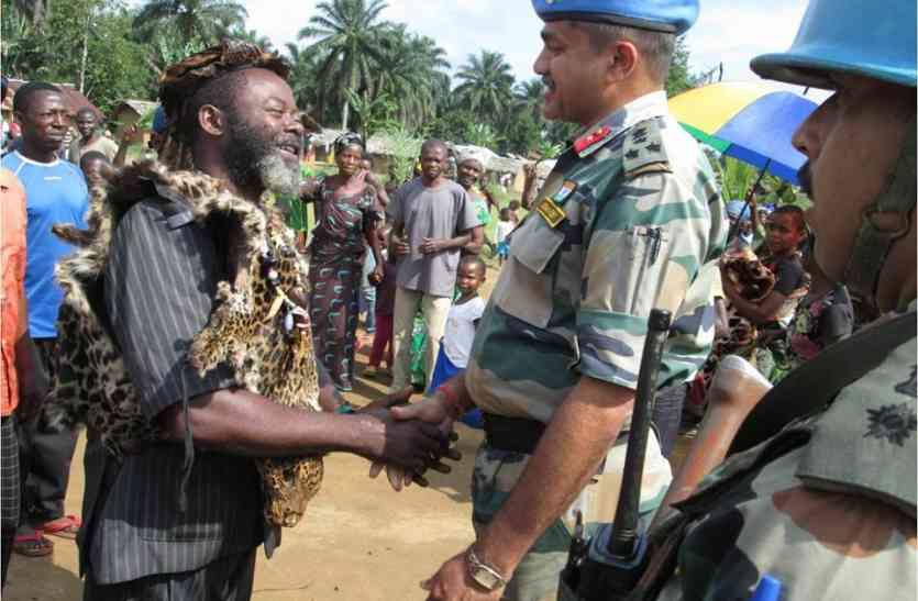 कांगो में तैनात भारतीय जवानों पर हमला, जवाबी हमले में दो विद्रोही ढेर