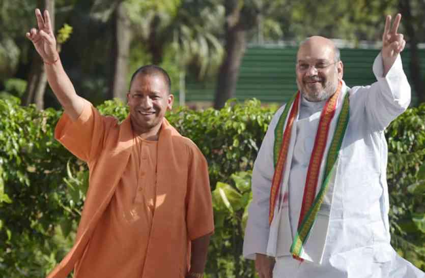 51 जिलों के भाजपा कार्यालयों का शाह, योगी करेंगे सीतापुर में शिलान्यास