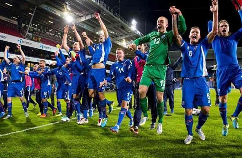 महज सवा तीन लाख की आबादी वाले इस देश ने फीफा विश्व कप में प्रवेश कर रचा इतिहास