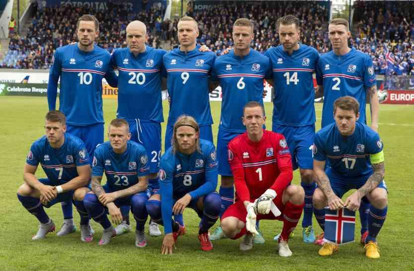 फीफा विश्वकप में क्वालीफाई करने वाला सबसे छोटा देश बना आइसलैंड