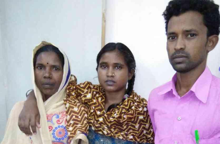 झारखंड से बिछड़ी पुत्री अहमदाबाद में मिली