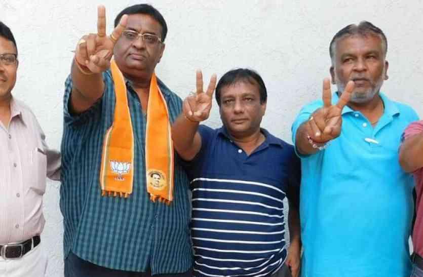 भाजपा को छह, कांग्रेस को 2 सीटें