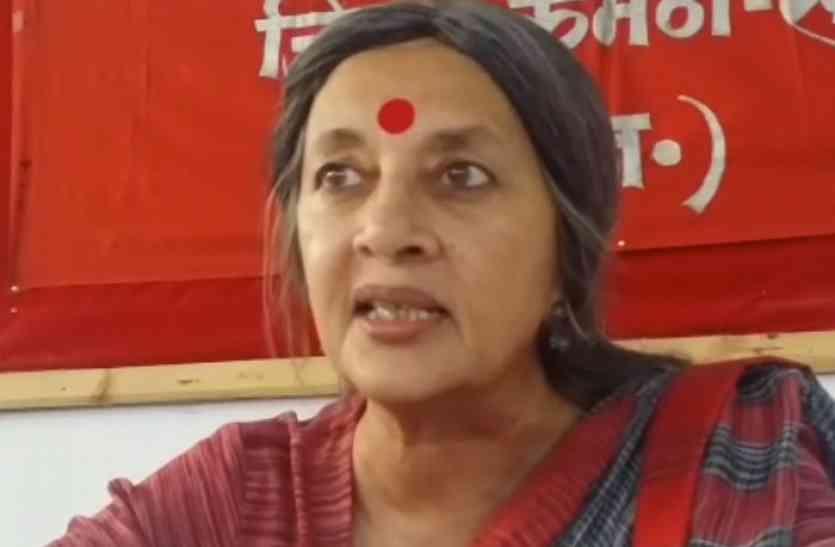 माकपा नेता वृंदा करात ने अमित शाह व पीएम मोदी पर लगाए गंभीर आरोप