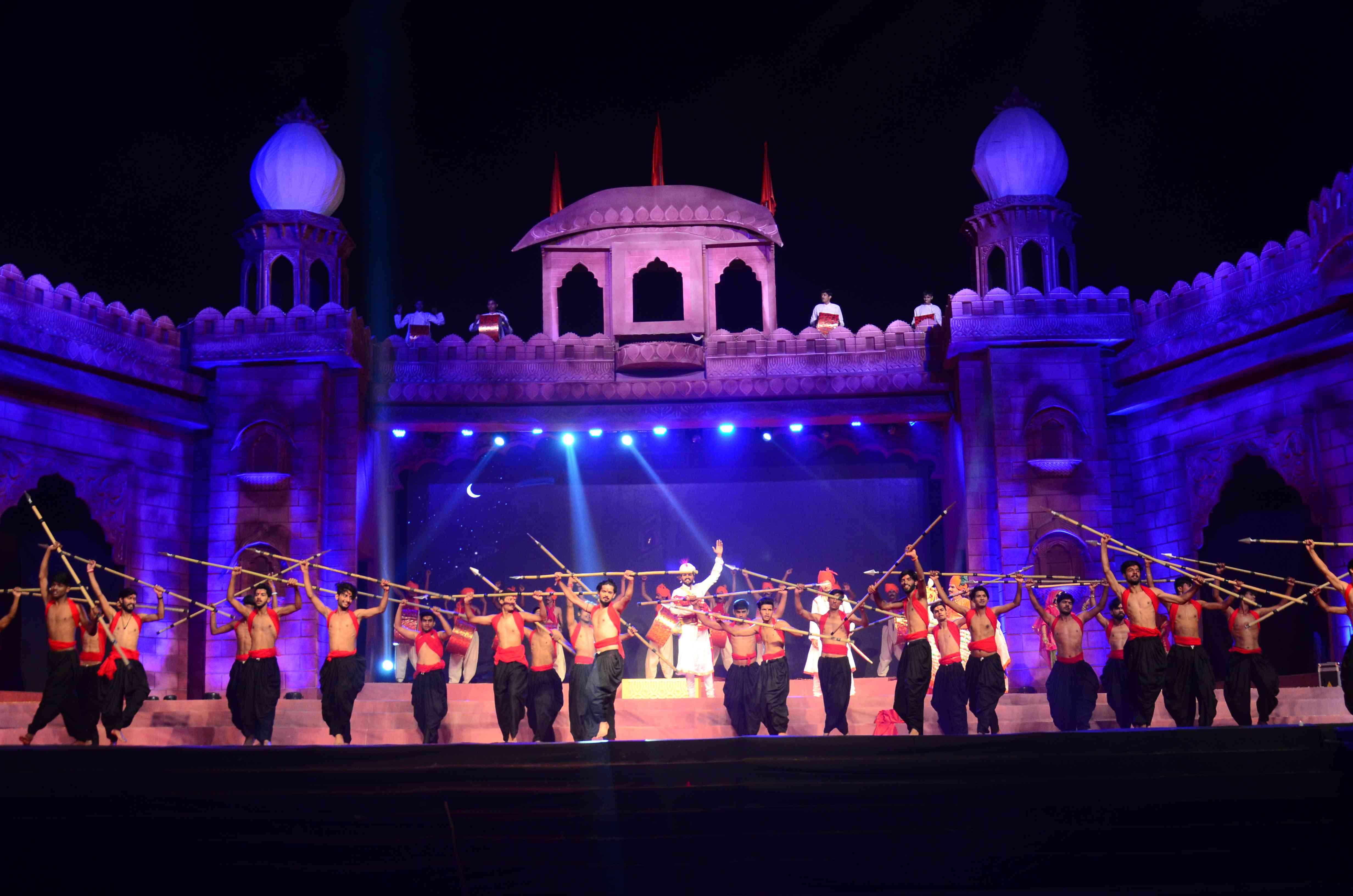 Veer Durgadas Rathore show in Jodhpur