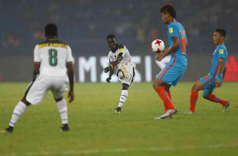 फीफा अंडर-17 विश्व कप में 4-0 की हार के साथ खत्म हुआ भारतीय सफर