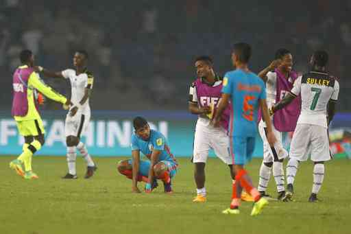 FIFA U17 Worlc Cup: India Lost its Last MAtch Against Ghana with 0-4