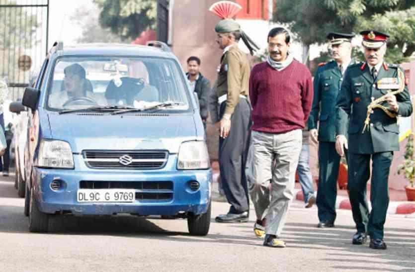 दिल्ली: सचिवालय के सामने से मुख्यमंत्री अरविंद केजरीवाल की कार चोरी
