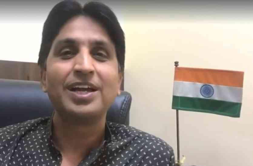 कुमार विश्वास ने फेसबुक लाइव कर मुख्यमंत्री को घेरा, आयोजकों पर दबाव डालने के लगाए आरोप