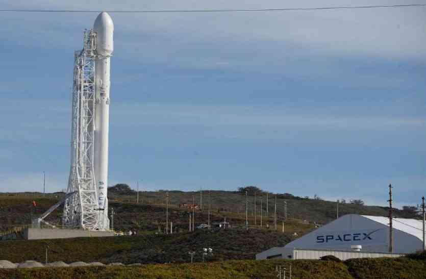स्पेसएक्स ने 3 बार इस्तेमाल रॉकेट से किया उपग्रह प्रक्षेपण