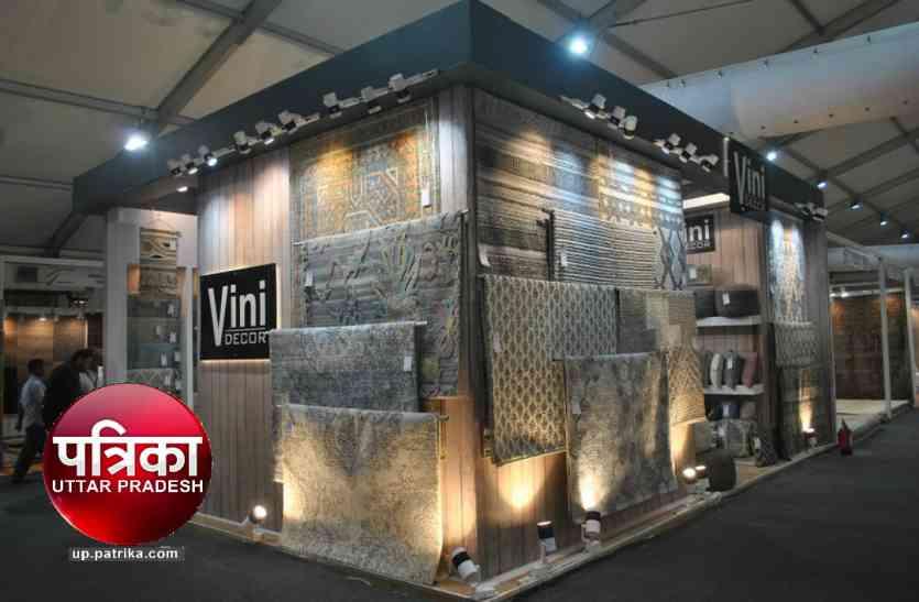International Carpet Expo: विदेशी कालीन मेलों को टक्कर देने के लिये अन्तर्राष्ट्रीय स्तर के स्टाल पर जोर