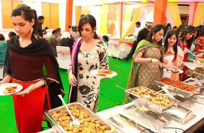शादियों में नहीं मिलेगा रात 11 के बाद दूल्हा-दुल्हन को खाना