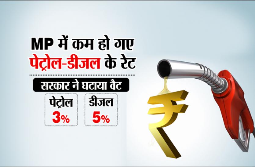 दिवाली से पहले सरकार ने दिया बडा़ गिफ्ट, पेट्रोल-डीजल के दाम गिरे