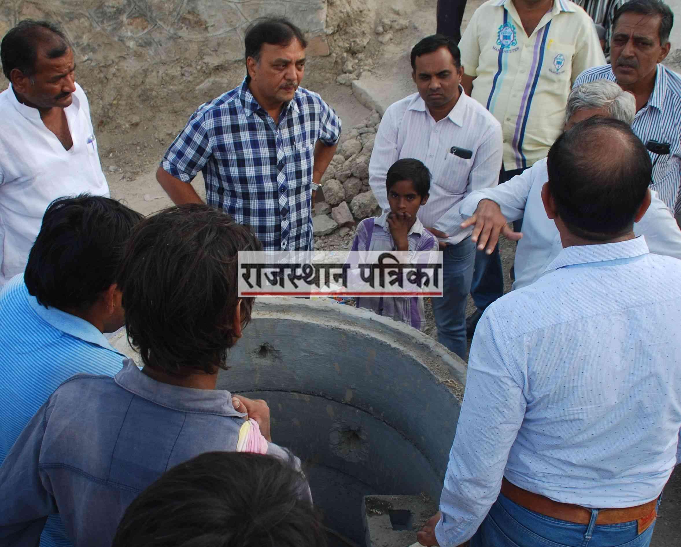 रेलवे अंडरपास  पानी भराव की समस्या
