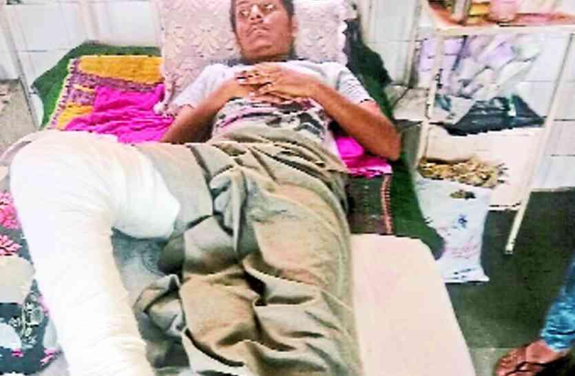 हिमोफिलिया पीडि़त की न्यू सिविल में सफल सर्जरी