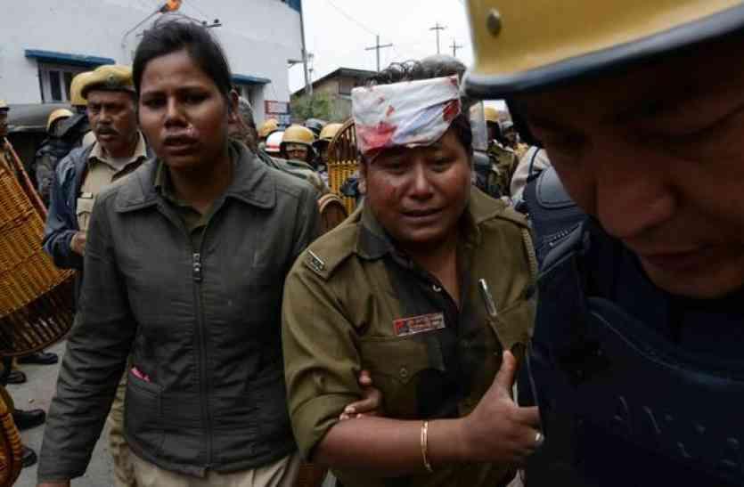 दार्जिलिंग में पुलिस और गोरखा जन मुक्ति मोर्चा समर्थकों में संघर्ष, पुलिस कर्मी की मौत