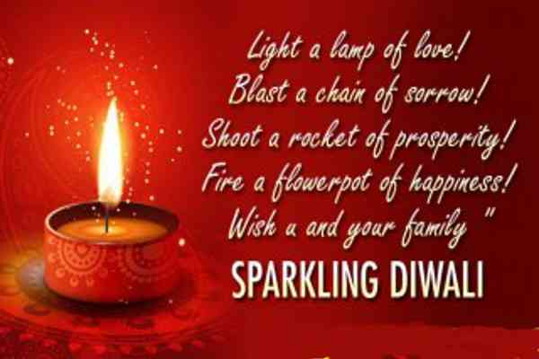diwali english messages