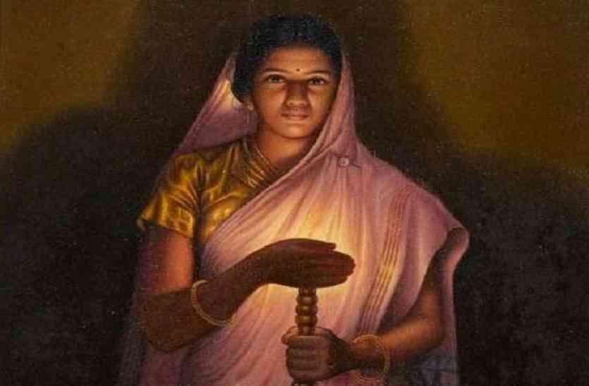 राजा रवि वर्मा के चित्रों में कभी उनकी पत्नी क्यों नहीं दिखाई दीं?