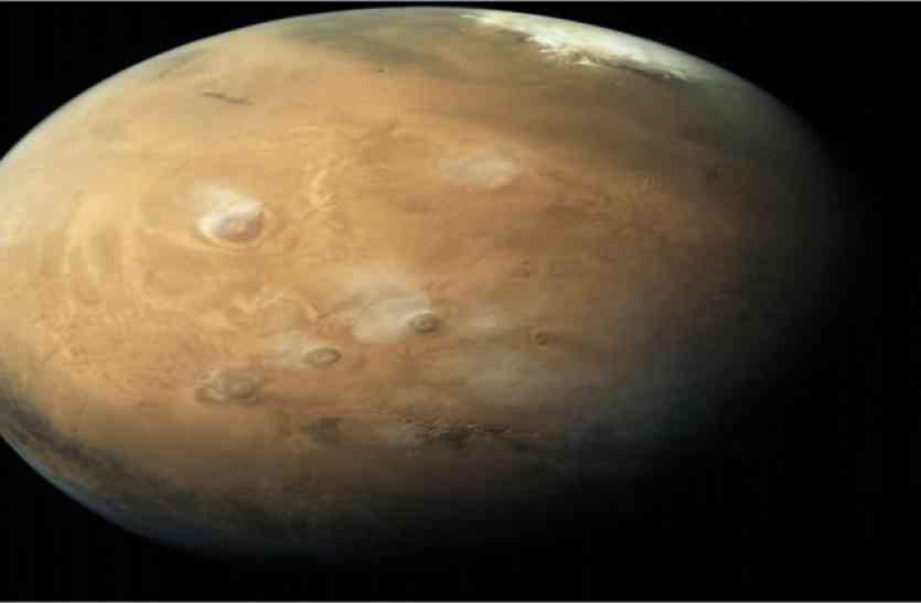 मंगलयान ने भेजी मंगल की नई तस्वीरें