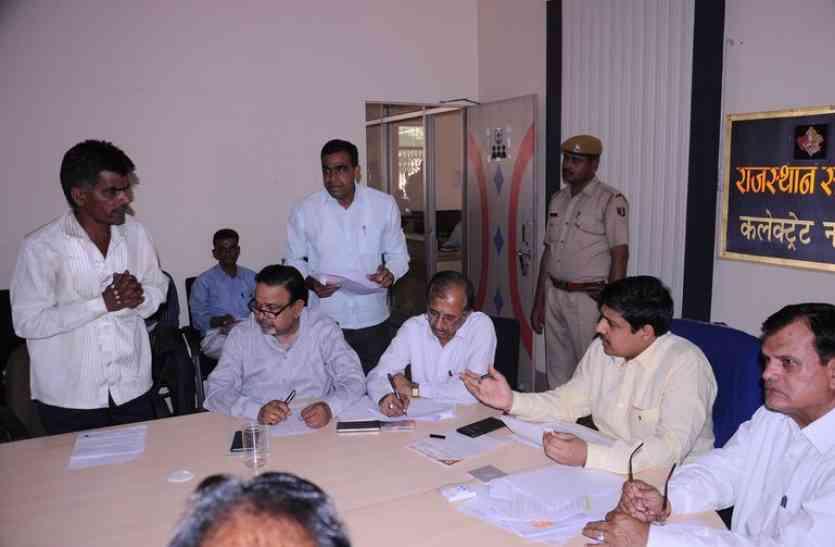 नागौर : भू माफियाओं की बनेगी सूची, सरकारी सुविधाओं से होंगे महरूम