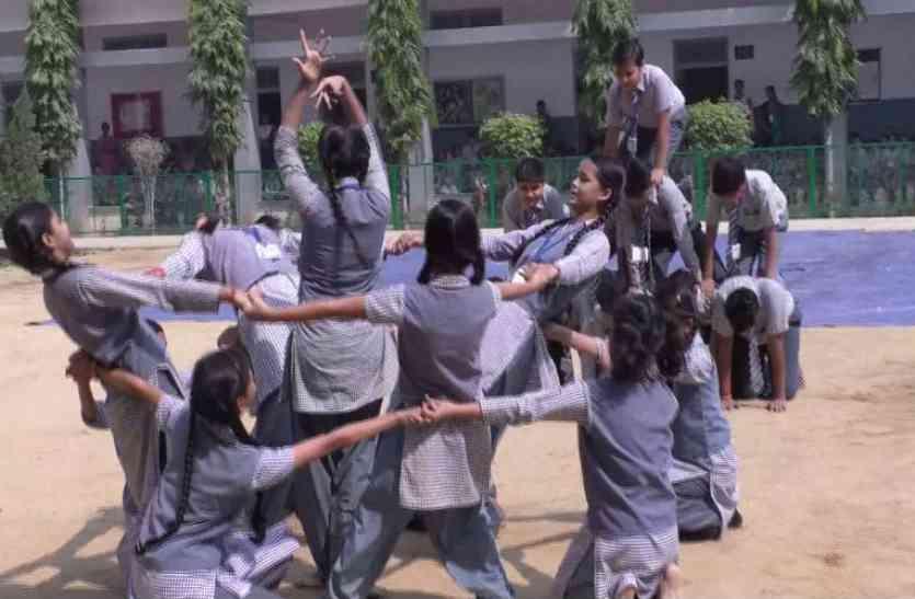 दीपावली को लेकर एसपी ने पढ़ाया पाठ, स्कूली बच्चों ने लिया ये संकल्प